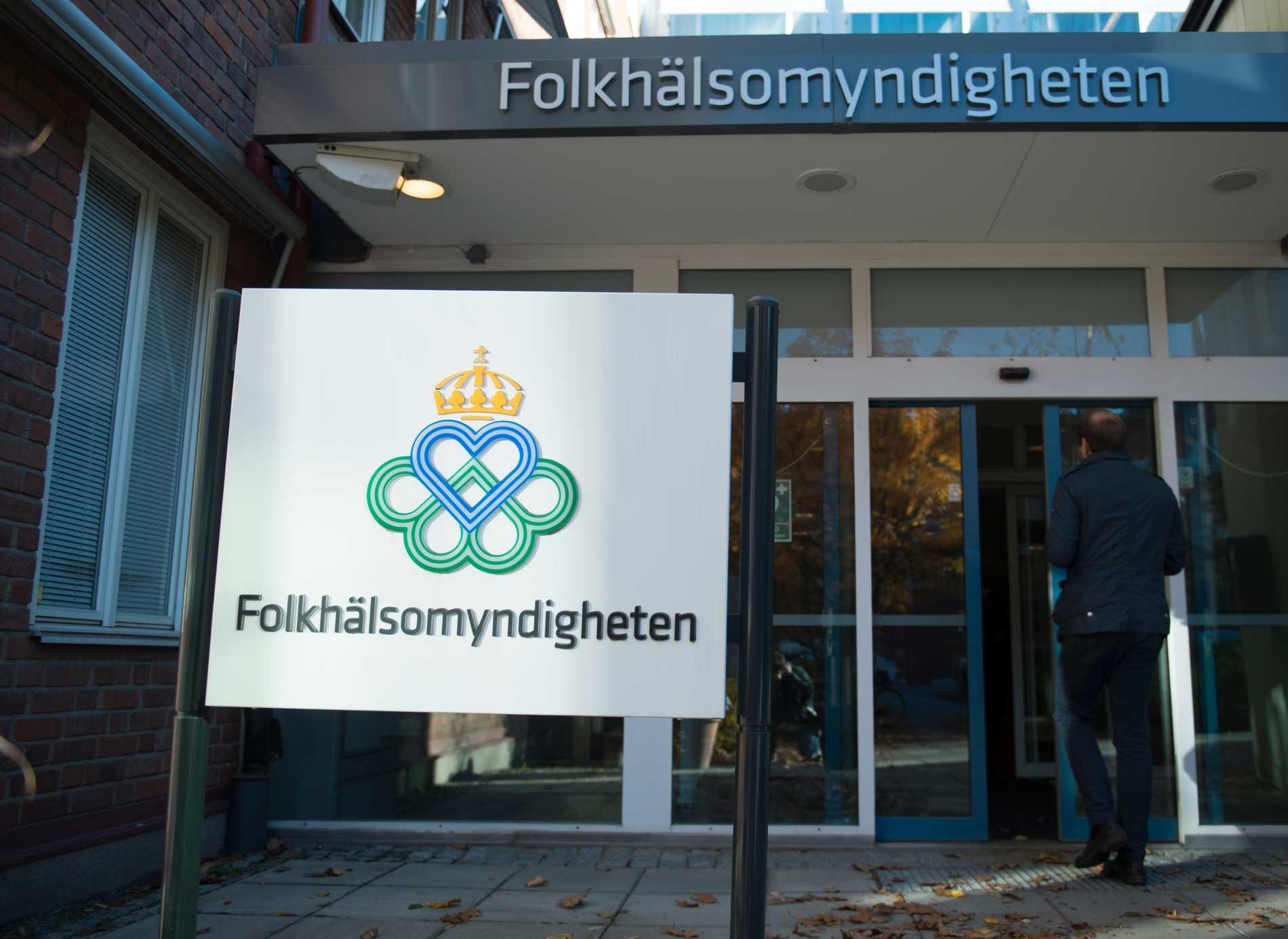 Folkhälsomyndigheten i Stockholm.