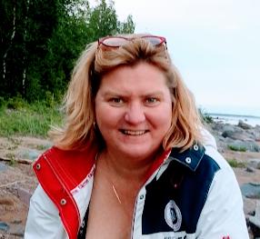 Erika Hansson, ordförande i Luleå skärgårdsförening, är spindeln i nätet under skräpplockarveckan.