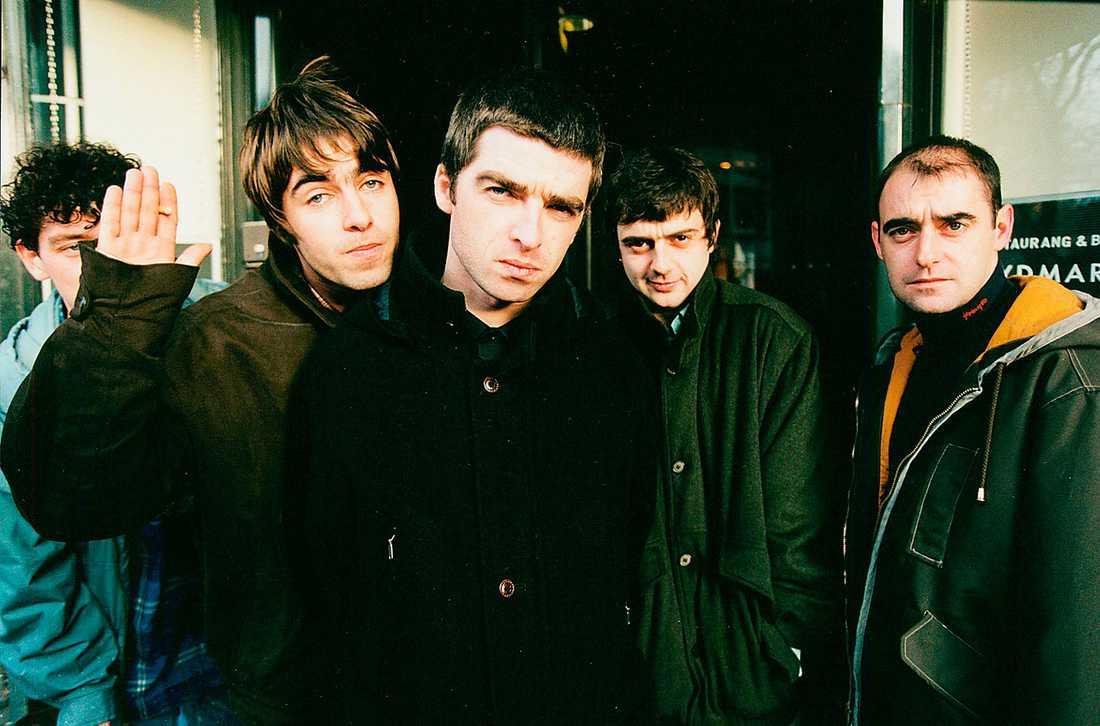 Oasis, ett av de mest kända Manchester-banden.
