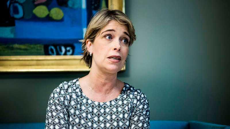 Annika Strandhäll (S) socialminister.