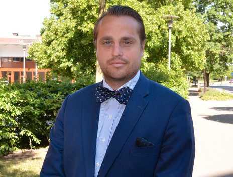 Christian Sonesson (M) är kommunstyrelsens ordförande i Staffanstorp.