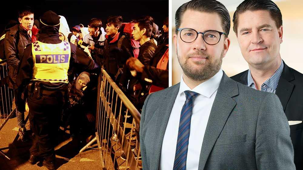 För oss handlar det om att prioritera rätt. Det är inte svårare än så. Vi är till skillnad från de vänsterliberala falangerna redo att resolut skära i invandrings- och biståndsrelaterade områden. Våra egna medborgare måste helt enkelt komma först, skriver Jimmie Åkesson och Oscar Sjöstedt (SD).