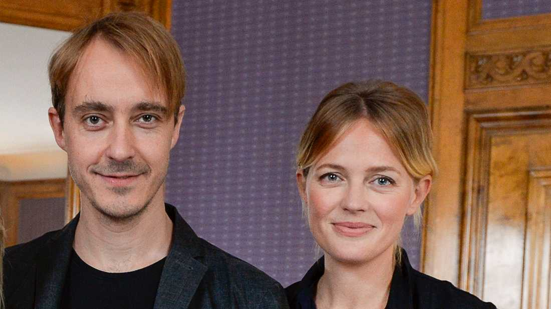Jonas Karlsson och Josephine Bornebusch ska spela gift countryduo. Arkivbild.