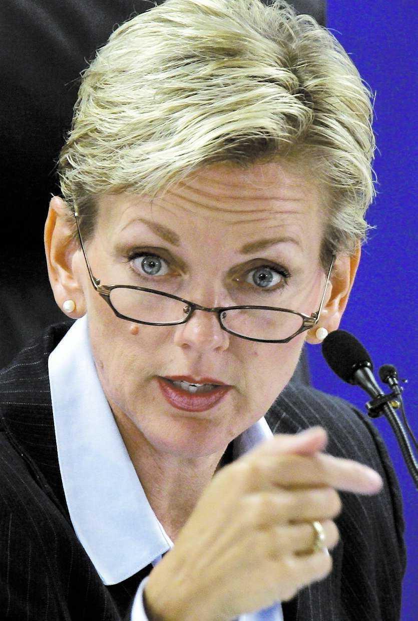 FARFAR utvandrade Jennifer Granholm kan bli vårt svenska inslag i Obamas regering. Hennes farfar utvandrade nämligen från Robertsfors på 1930-talet.