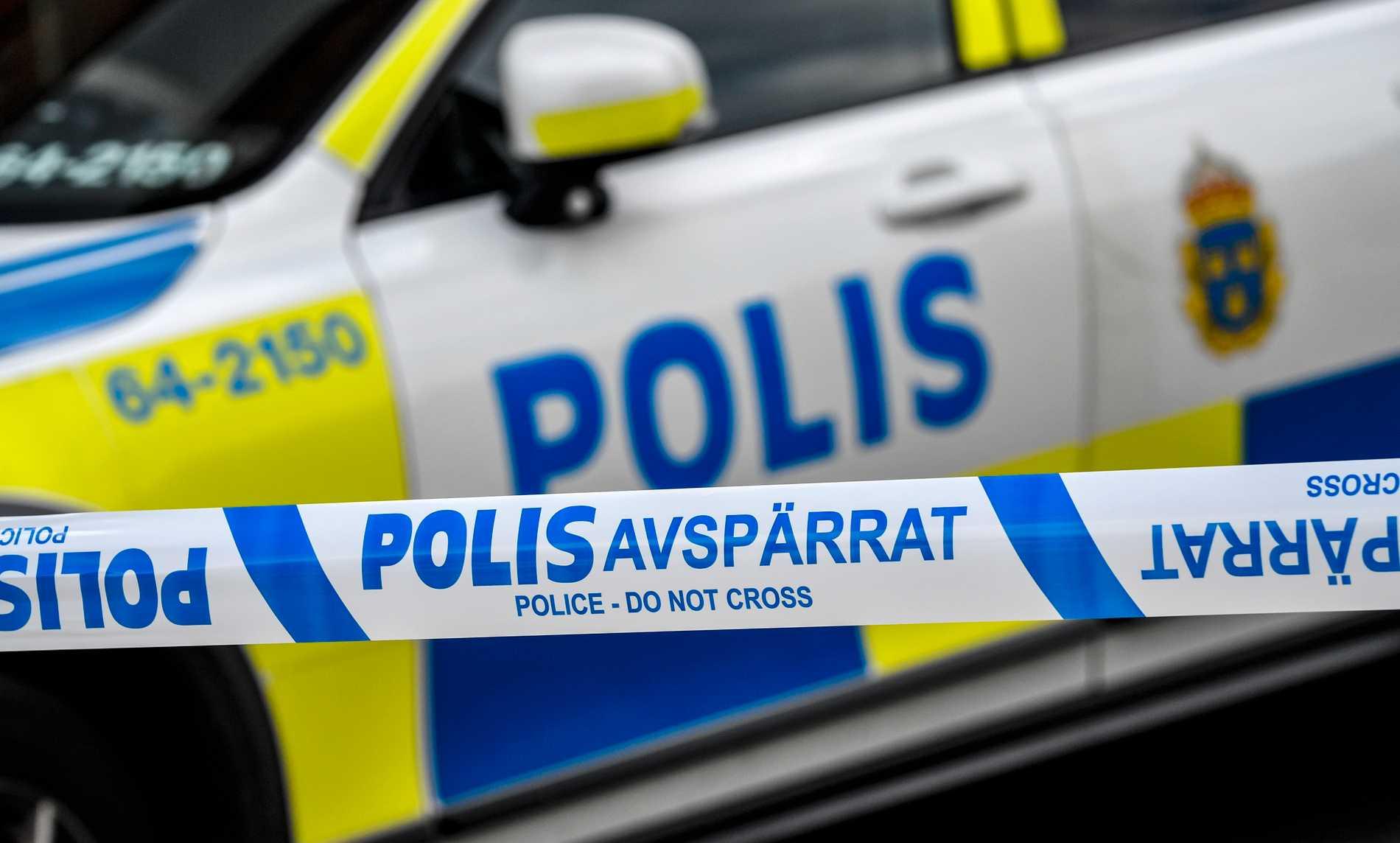 En kvinna som hittats skadad i närheten av Skansen fördes till sjukhus av polisen. Arkivbild.