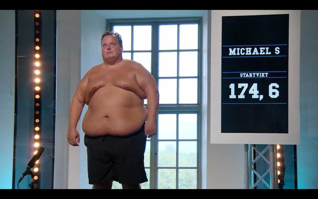 """Michael Sjögren är tillbaka i """"Biggest loser"""" - 20 kilo tyngre än när han vägdes in första gången"""