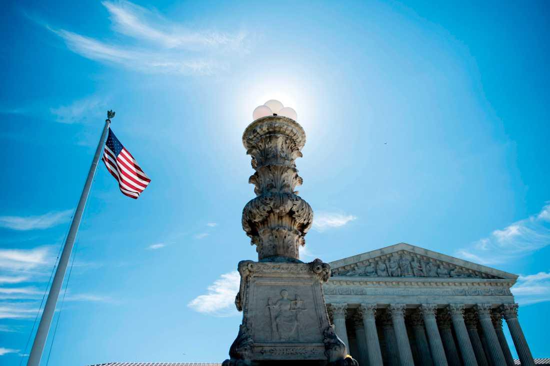 USA:s Högsta domstol.