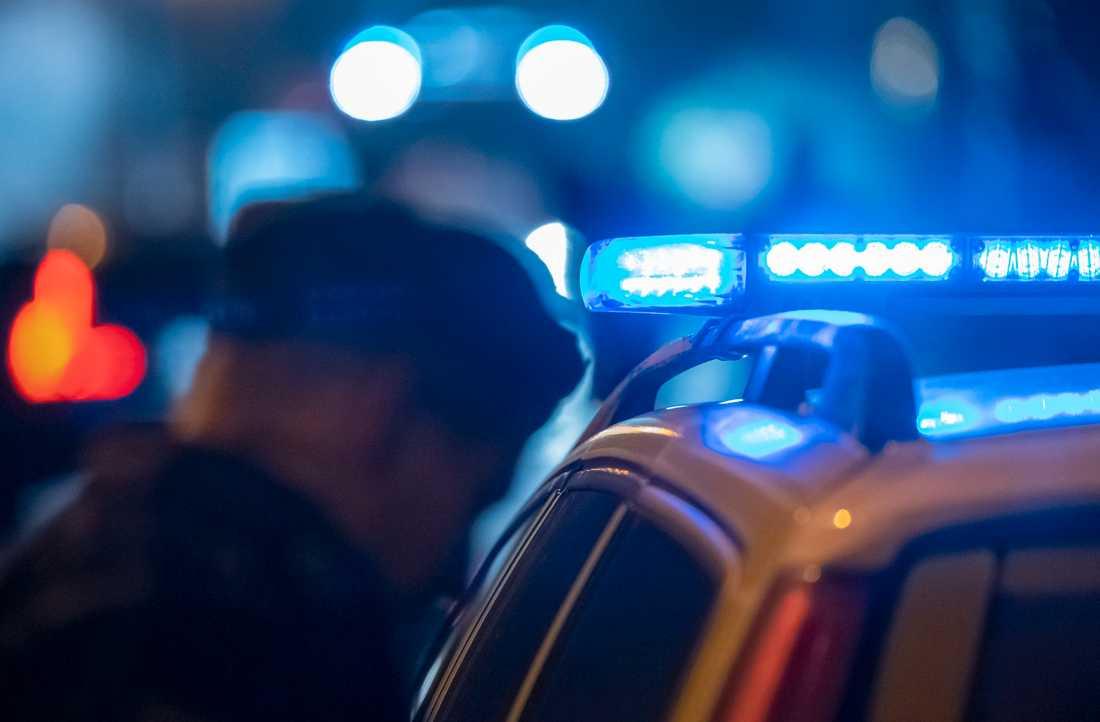 Tre eller fler personer misstänks ha utfört rånet. Arkivbild.