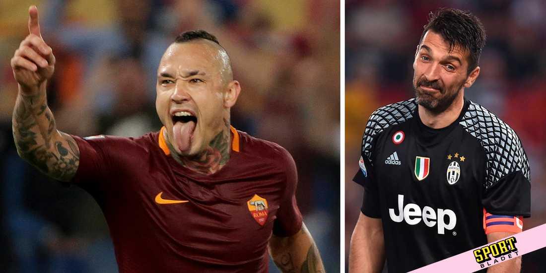 Radja Nainggolan och Roma besegrade Buffons Juventus.