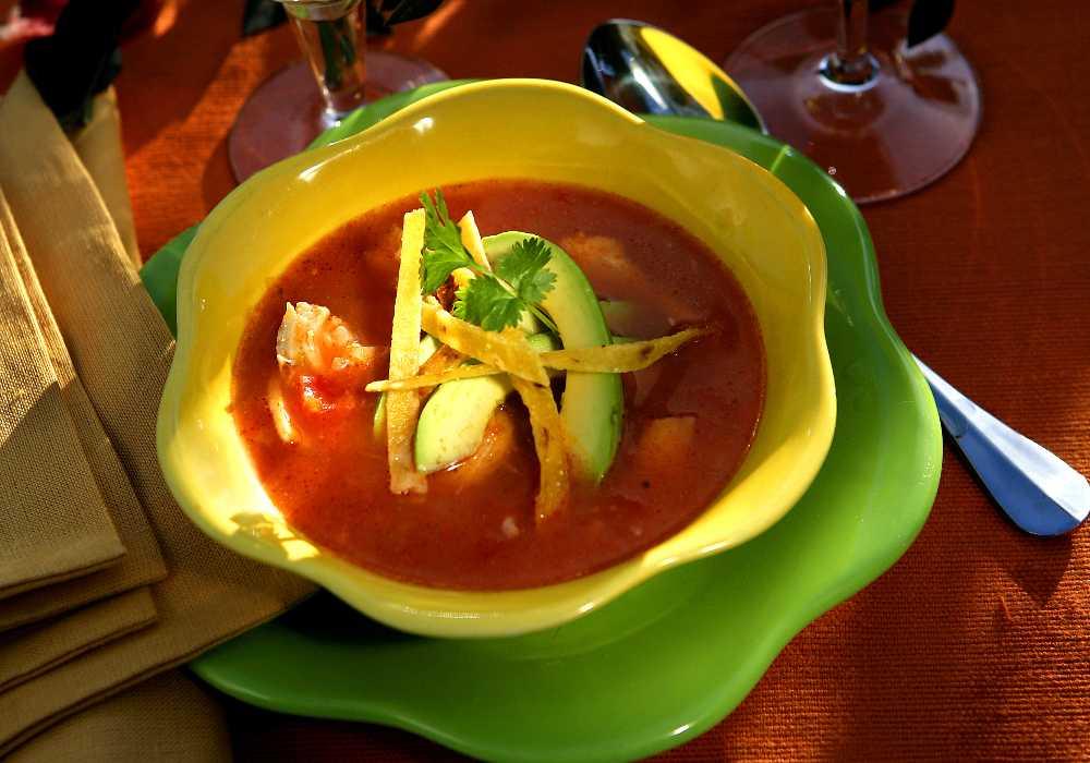 Mexikansk tortillasoppa