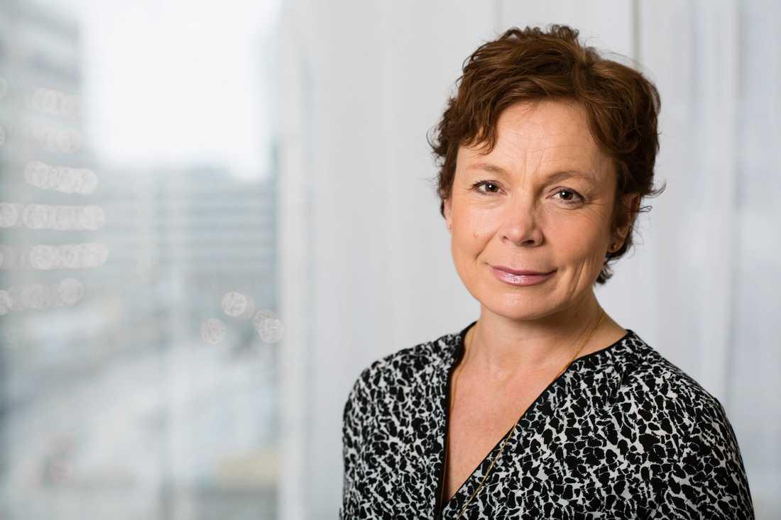 Bernice Aronsson är barnläkare och utredare vid Folkhälsomyndigheten. Pressbild.