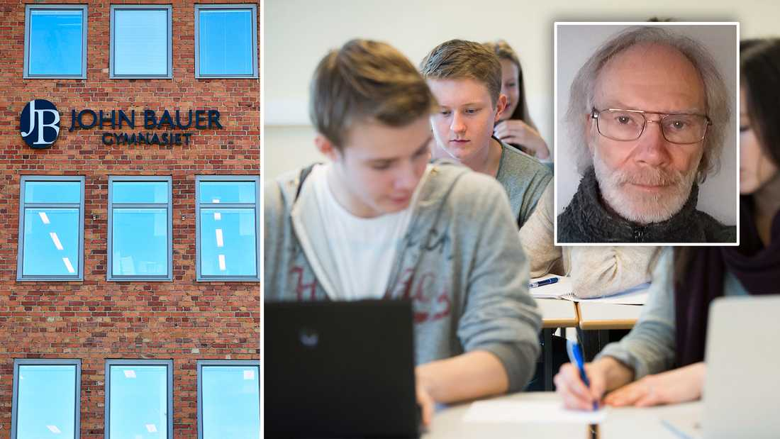 Debattören Robert Frykner är före detta studie-och yrkesvägledare.