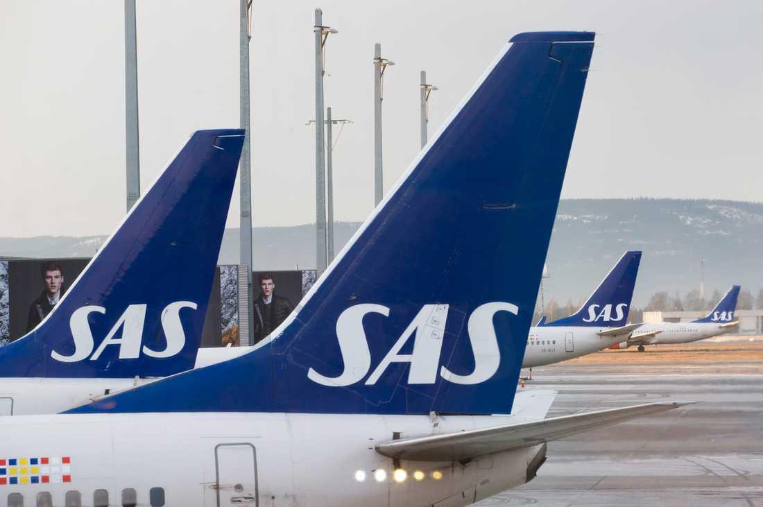 SAS ställer in flyg till Frankfurt och München. Arkivbild.