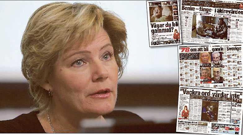 MENAR HON ALLVAR? En statlig utredning föreslår att ett nytt yrke, äldreassistent, ska inrättas för att höja kvaliteten i äldreomsorgen. Menar Maria Larsson, kd, allvar med att hon vill göra vården bättre är det en bra start.