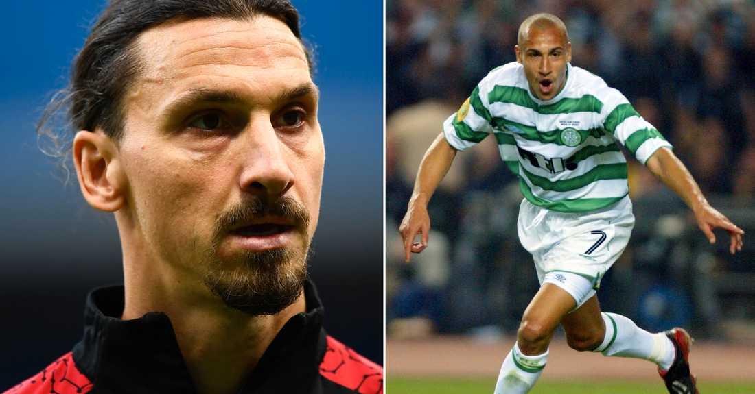 Zlatan och Henrik Larsson.
