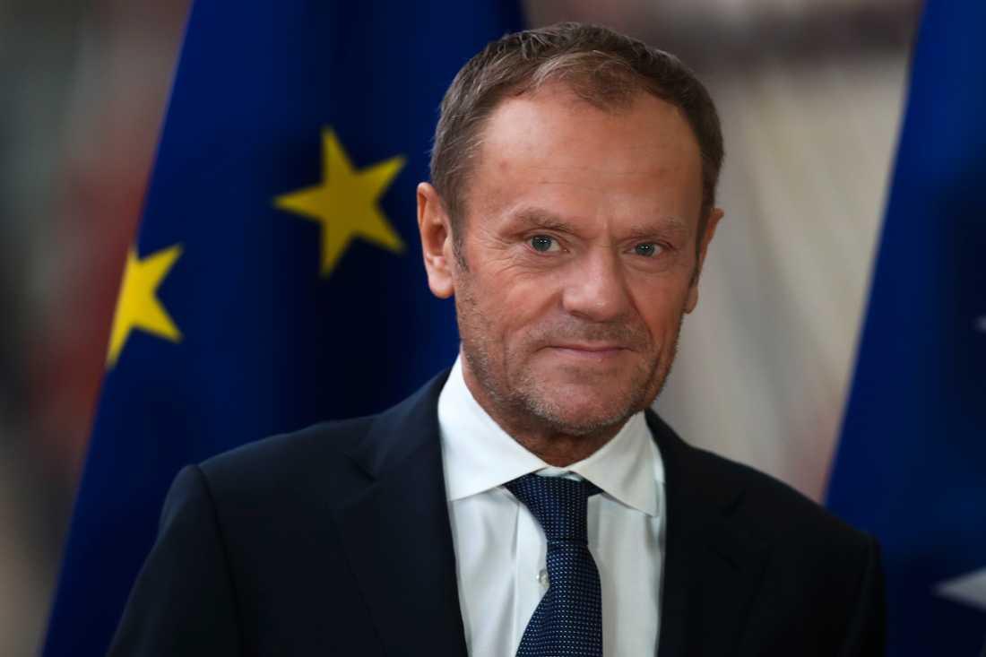 """EU:s permanente rådsordförande Donald Tusk är orolig för """"anti-europeiska krafter"""". Arkivfoto."""