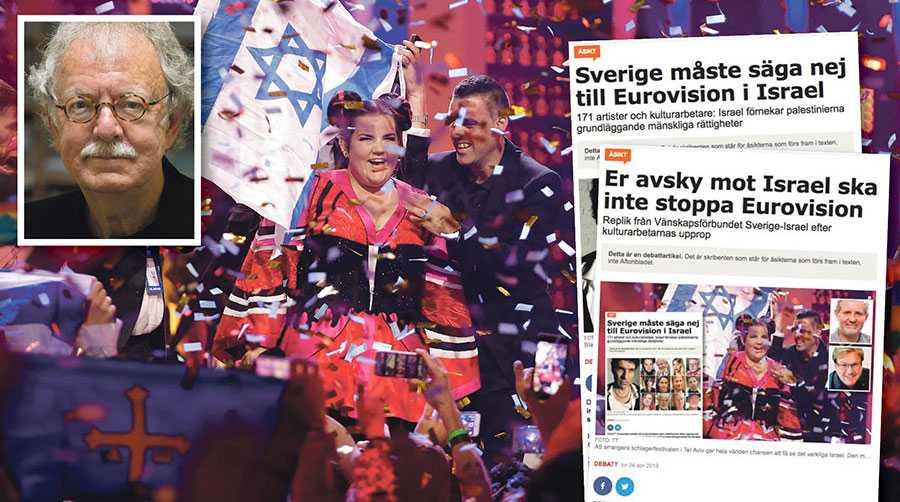 Många israeliska judar delar vår uppfattning och våra argument, skriver Sören Sommelius, en av de 171 som undertecknade uppropet mot Eurovision i Israel i Aftonbladet.