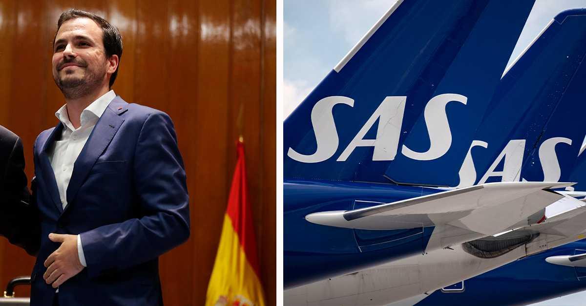 Spanska myndigheter: SAS återbetalning är bristfällig