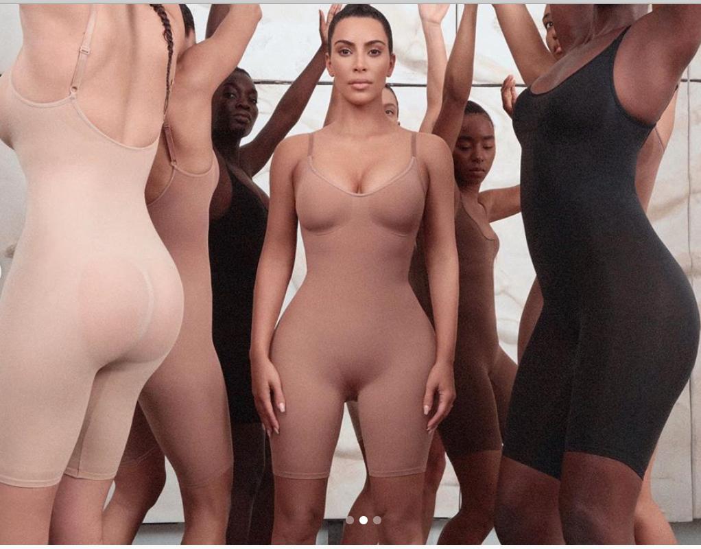 Kim Kardashians ny klädkollektion.