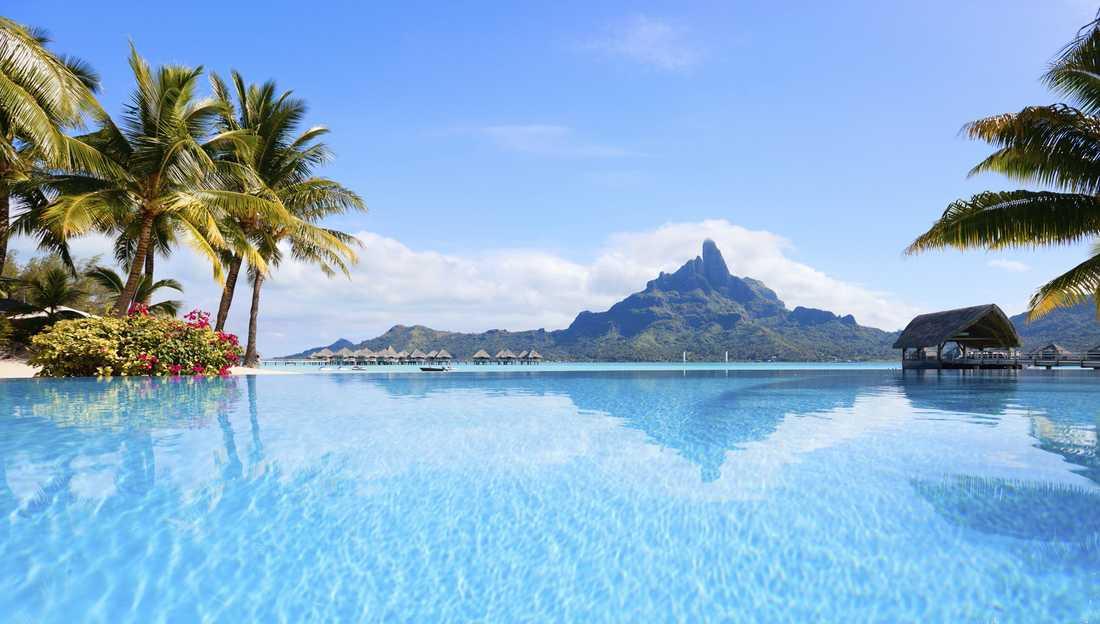 9) Bora Bora, Franska Polynesien.