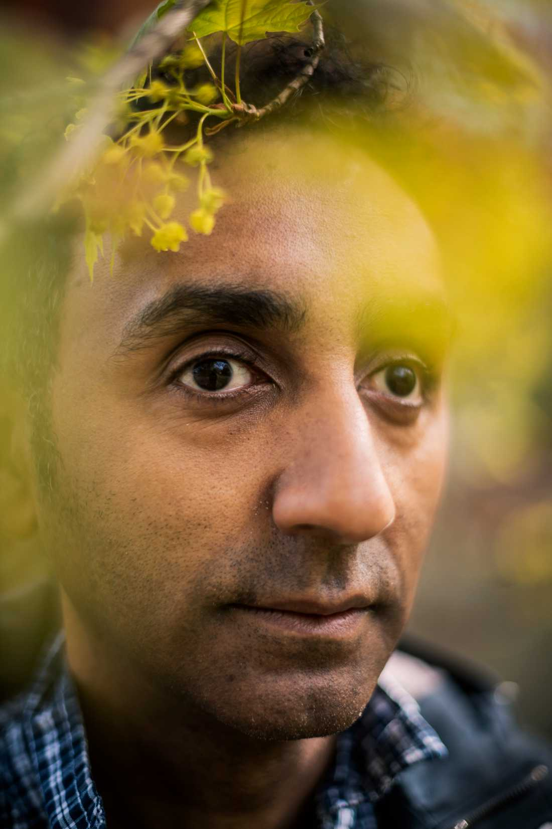 """Sami Said, född 1971 i Eritrea och uppvuxen i Göteborg, prisas för sin roman """"Människan är den vackraste staden""""."""