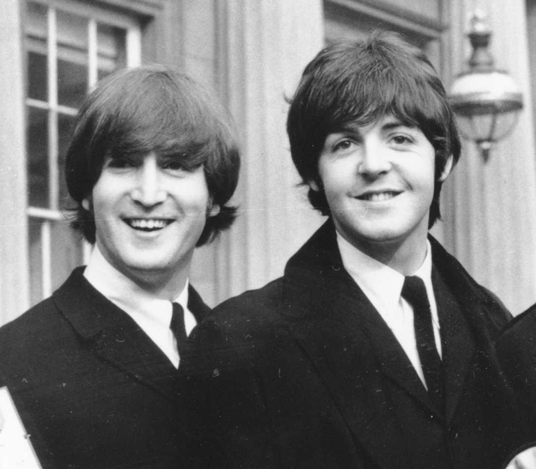 John Lennon och Paul McCartney.