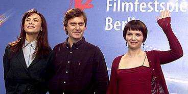 Lena, Lasse och Juliette.