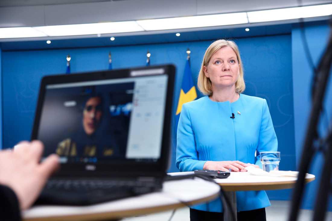 Nästa veckas budget kommer att innehålla sju nya miljarder till vården. Det berättade Magdalena Andersson idag.