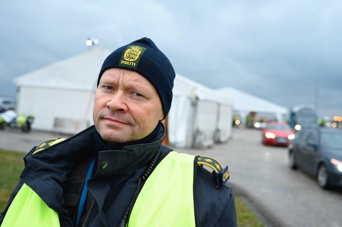 Jens Jespersen, ledande polisinspektör vid Köpenhamnspolisen.