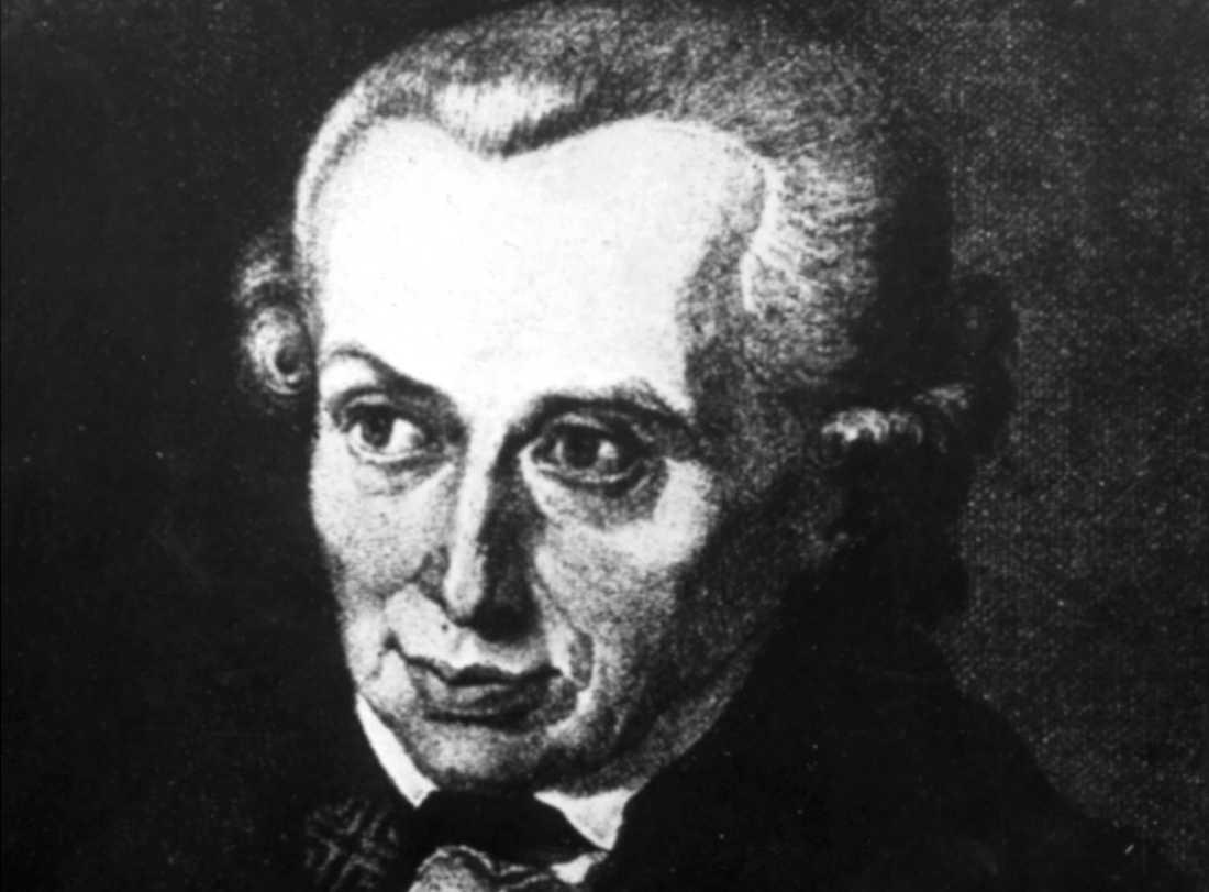 Den tyske filosofen Immanuel Kant (1724-1804) väcker starka känslor i Kaliningrad. Arkivbild.
