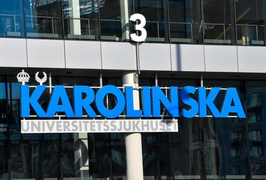 En överläkare på Karolinska universitetssjukhuset anklagas för att i flera år ha trakasserat minst tre judiska läkare. Arkivbild.