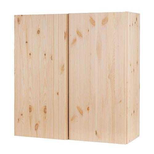 """IVAR Väggskåp """"Vackra, rena linjer i trä. Enkelt och inbjudande att sätta sin personliga prägel på med träbets, färg, tapet eller favorit beslagen från mormors gamla byrå..."""""""