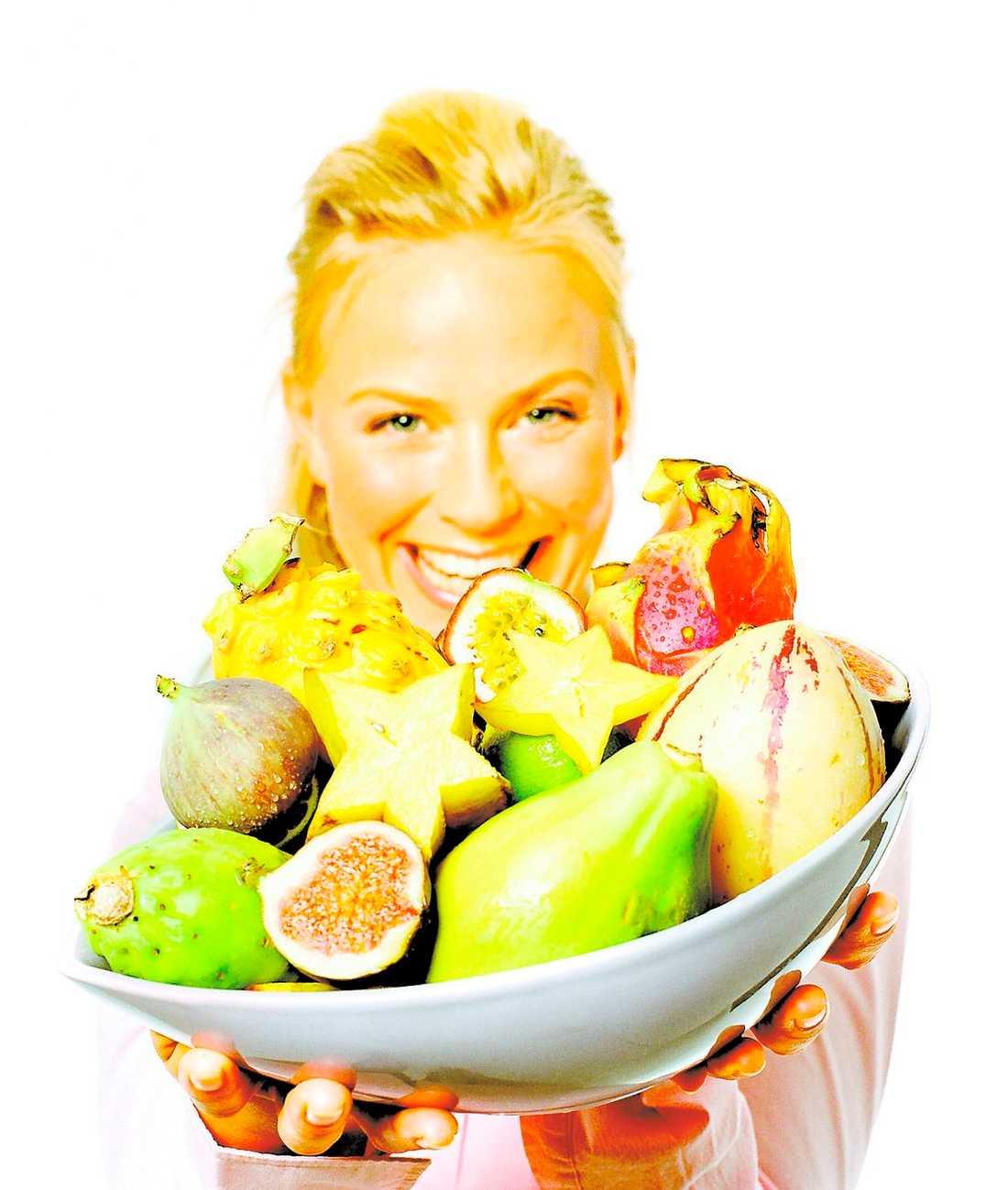 Välj frukt i stället för kött.