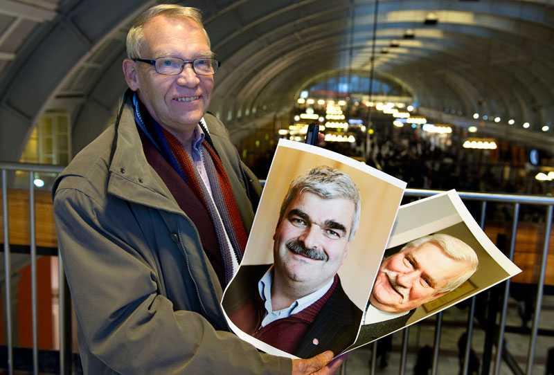 """Stockholmaren Hans Jellve, 69, visste precis vem den nye S-ledaren är. Men tror inte han blir en bra partiledare: """"Nej. Jag tror inte han har tillräcklig karisma."""" Enligt Hans Jellve är Juholt mest lik Lech Wa?esa."""