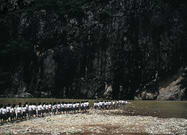 "Hyun-Jin Kwak: ""Den stora marschen""."