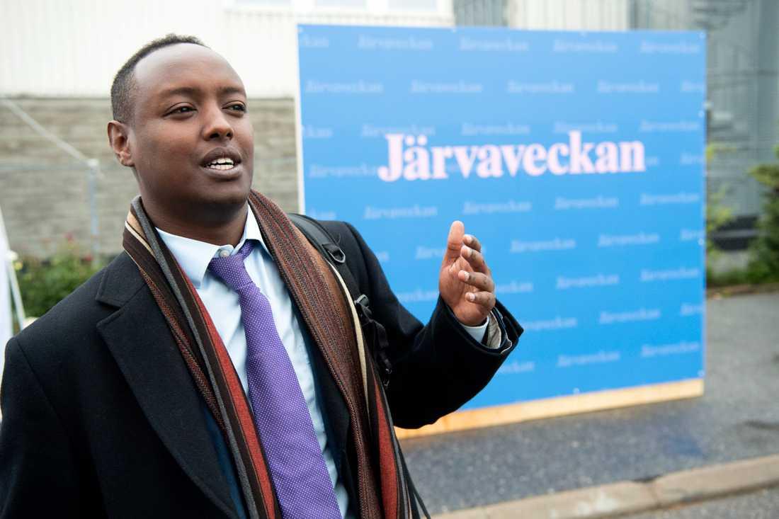 Ahmed Abdirahman har tagit beslutet att flytta fram årets Järvavecka till 2021.