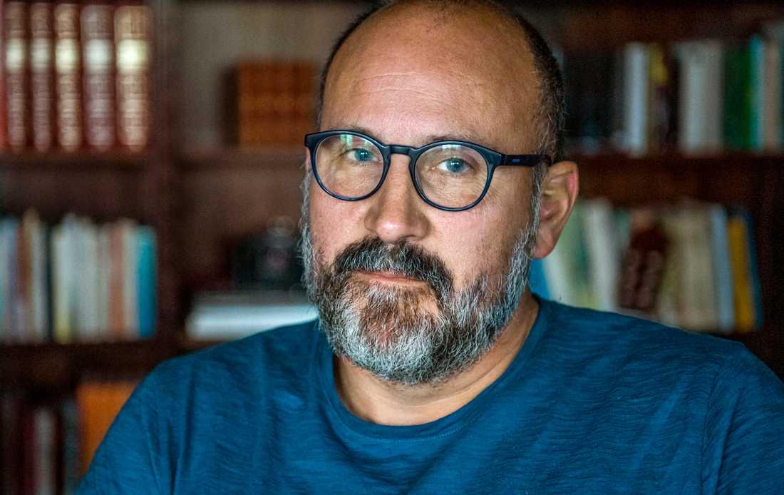Peter Gembäck, tidigare pastor i Knutbyförsamlingen, var den som polisanmälde händelserna som har lett fram till åtalet. Arkivbild.