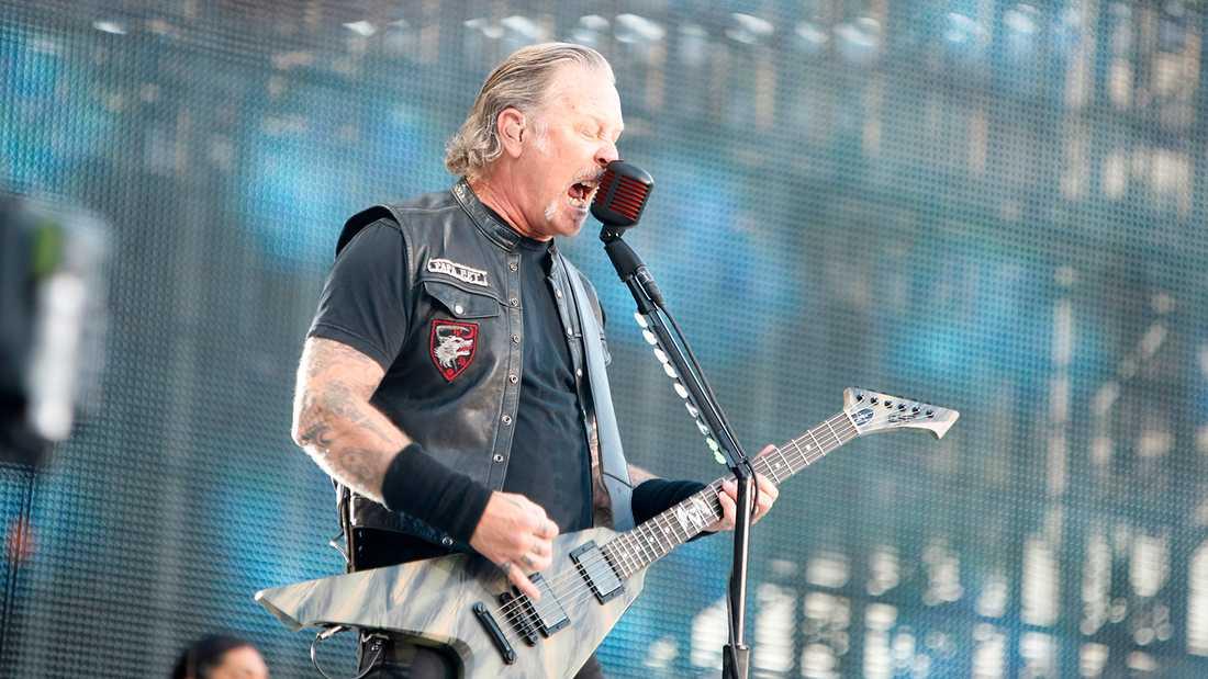 James Hetfield på Ullevi.