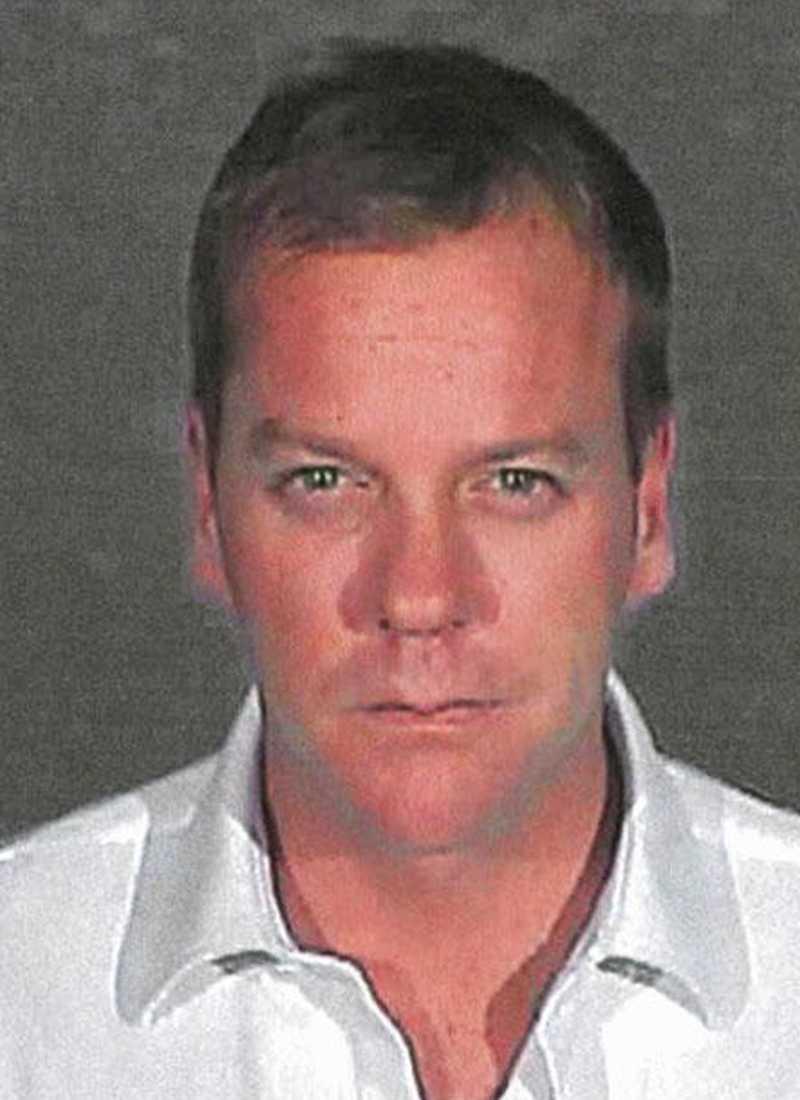 Kiefer Sutherland greps för rattfylla 2007.