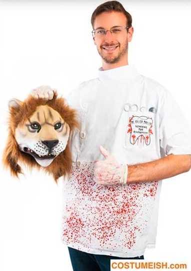 Även det brutala dödandet av lejonet Cecil har blivit kostym som provocerat många inför årets upplaga av Halloween.