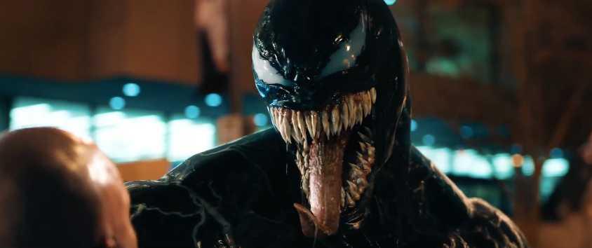 Venom visar upp sig