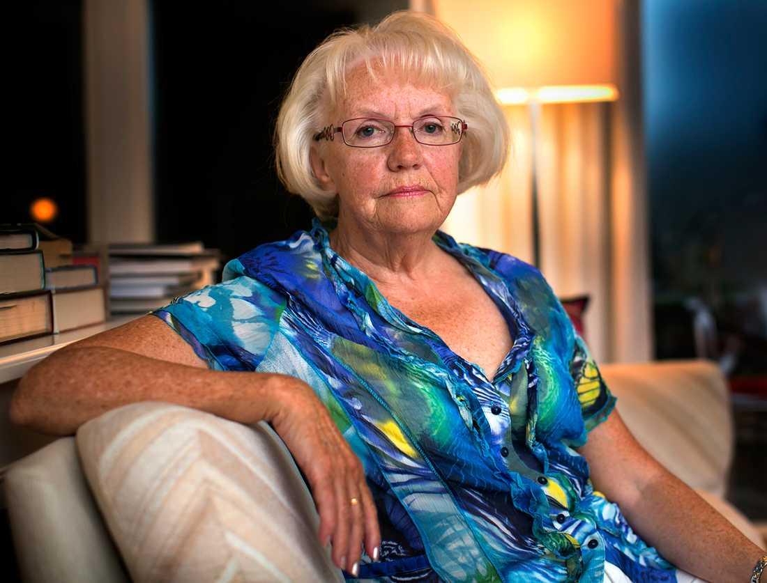 Berit Krantz, 70, från Hovås.