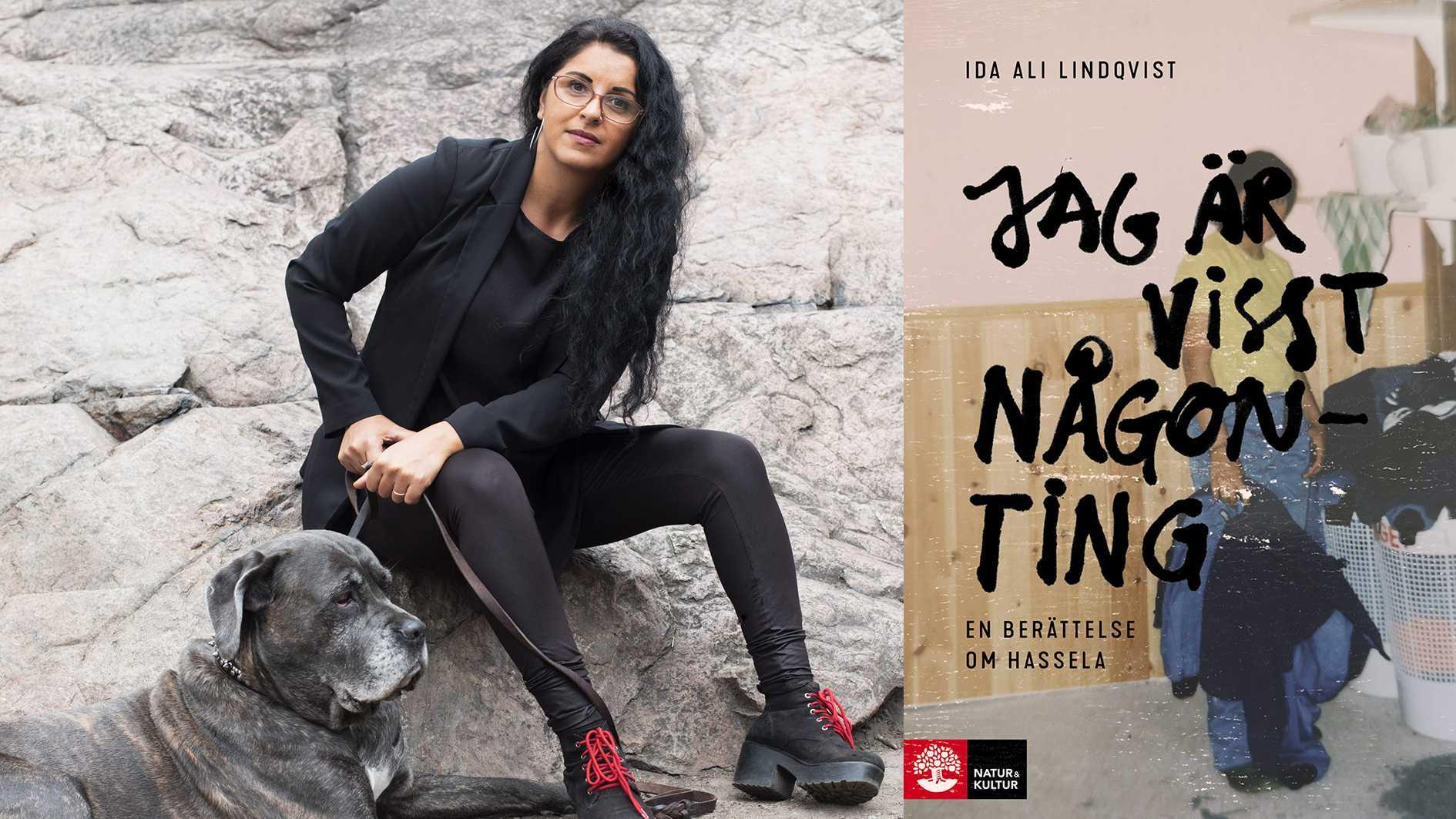 """Ida Ali Lindqvist är journalist, samhällsdebattör och samtalsterapeut. """"Jag är visst någonting – en berättelse om Hassela"""" är hennes första bok."""