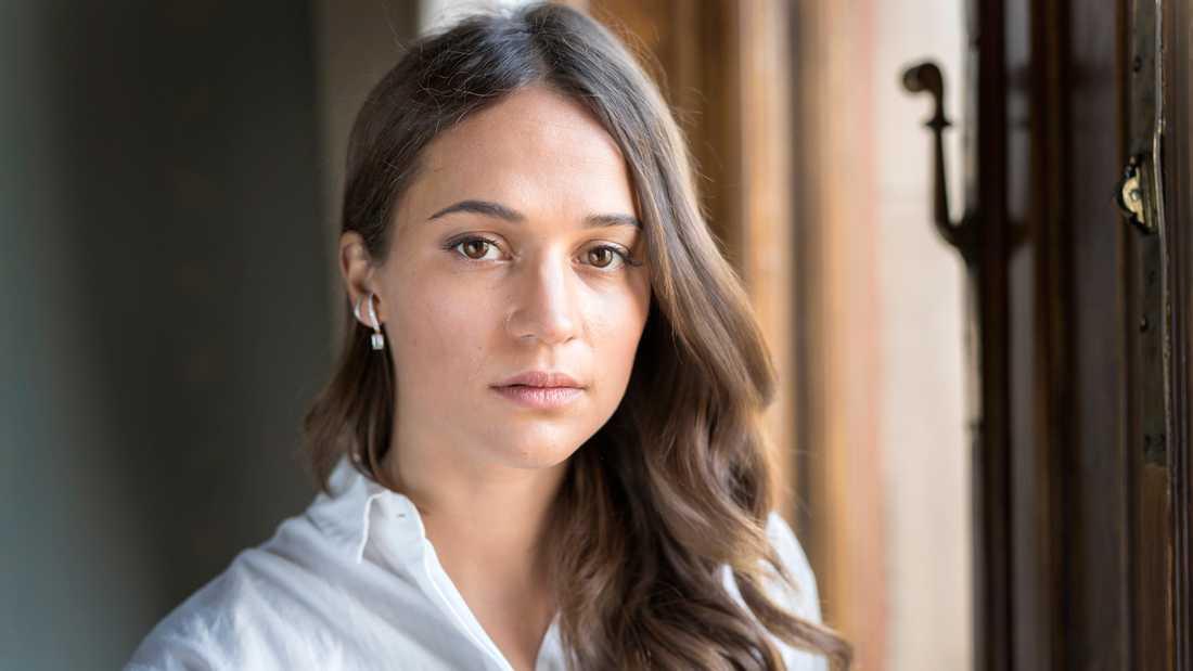 Alicia Vikander.