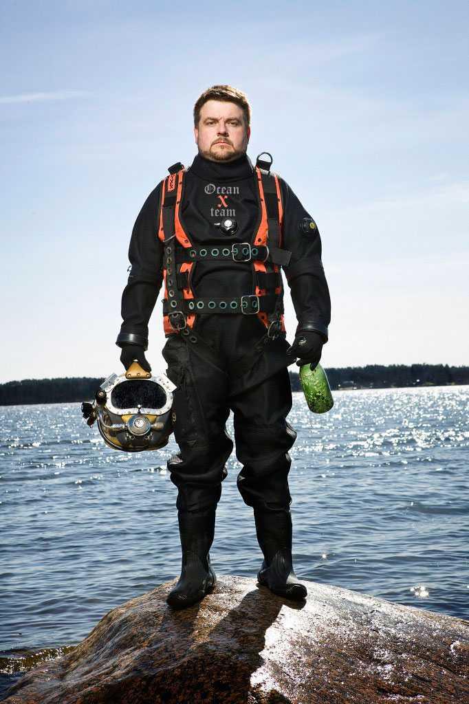 Peter Lindberg, Ocean X team.