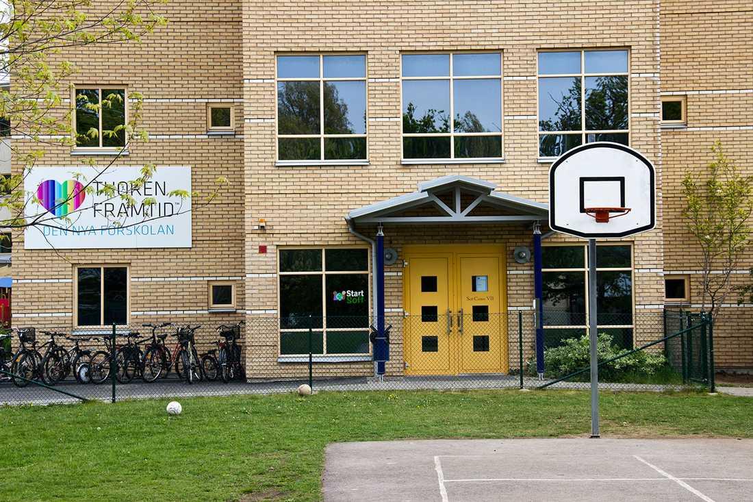 Skolan i Ronneby.
