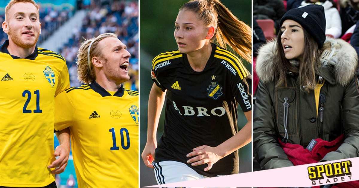 Tre svenska EM-spelare är tillsammans med ex-elitspelare