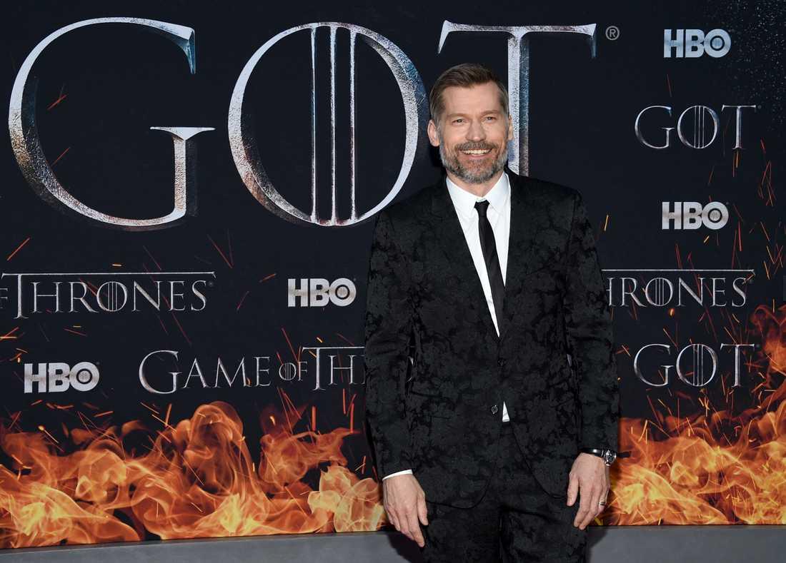 """Nikolaj Coster Waldau säger att han älskar sin rollfigur Jamie Lannister i """"Game of thrones"""". Men nu är det dags att ta farväl. Arkivbild."""
