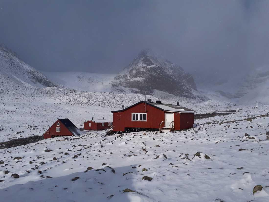 Meteorologisk vinter kommer att sättas till den 15 september i Tarfala.