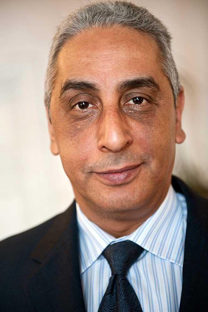 Osama Elmagdoub, Egyptens ambassadör i Sverige.